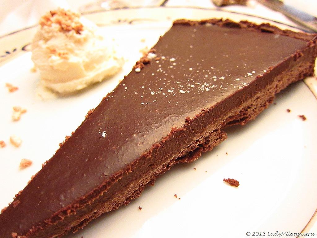 Tarte au chocolat de Yann Couvreur