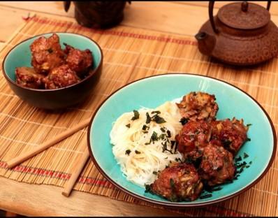 Boulettes de porc caramélisées - Thịt Heo Viên kho