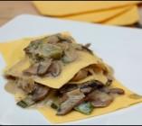 Lasagnes aux poireaux et champignons de Gordon Ramsay
