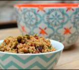 Salade de boulghour aux pistaches et raisins secs